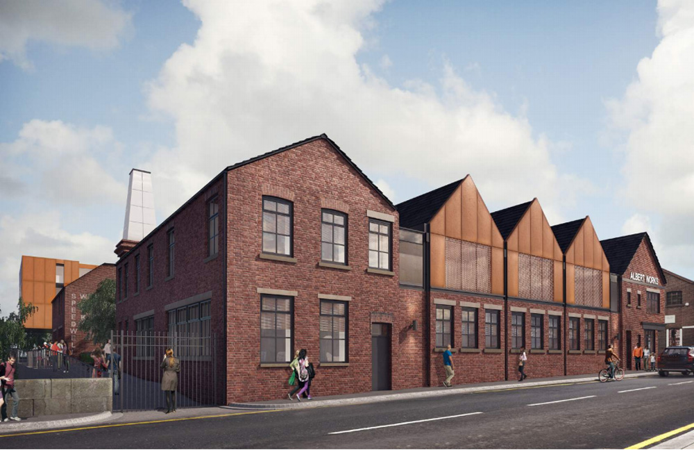 cortenclad structures complement industrial renovation by cartwright pickard
